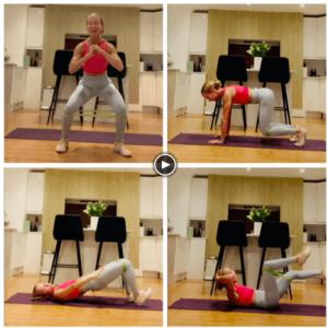 Lower Body and Core Scandi Pilates