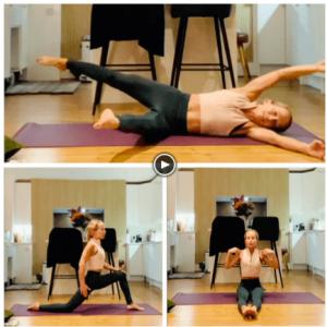 Stretch and Core Scandi Pilates Workout