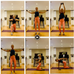 Upper Body Toning Workout Scandi Pilates