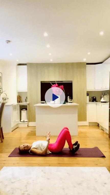 Anne-Mette lower body video start