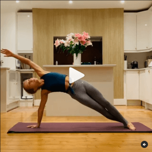 Start with a stretch video