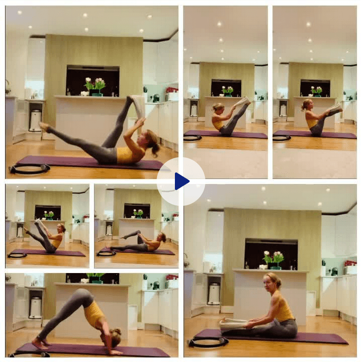 Tight Hamstrings Pilates workout taster video